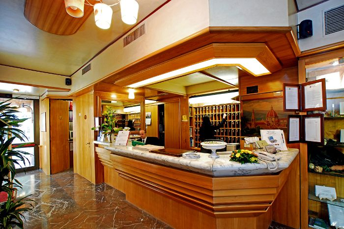 Hotel Grifone in Florenz - Rezeption
