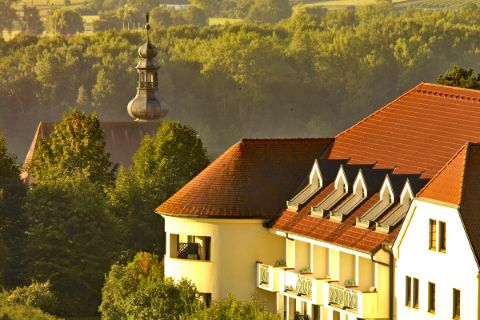 Ausblick Hotel Steigenberger in Krems