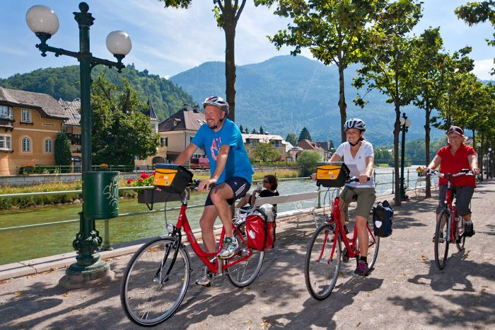 Cycle path in Bad Ischl