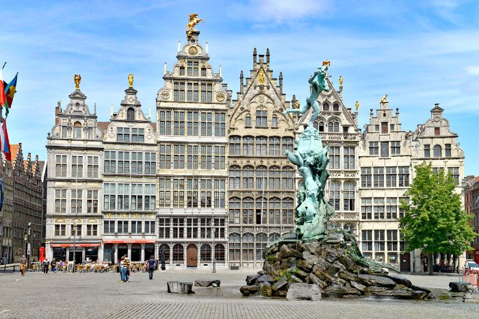 Antwerp historical center