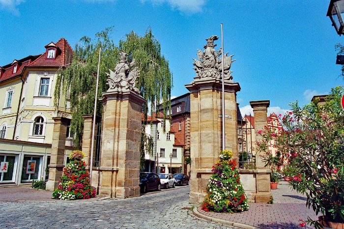 Stadttor in Ansbach