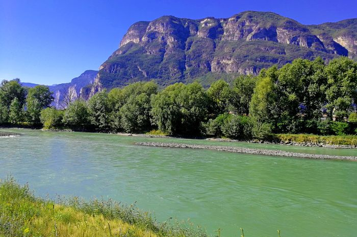 River Adige between Bolzano and Trient