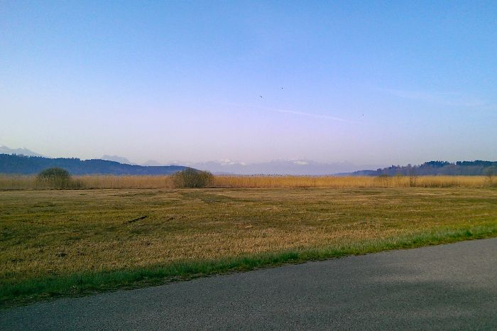 Early morning at Lake Chiemsee