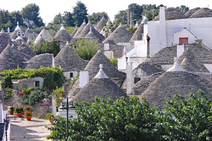 View over Alberobello
