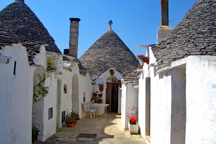 Häuser in Alberobello