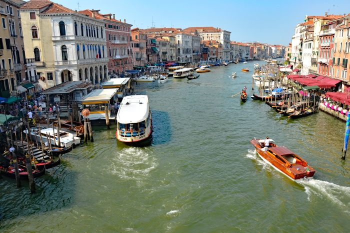 Channel in Venice