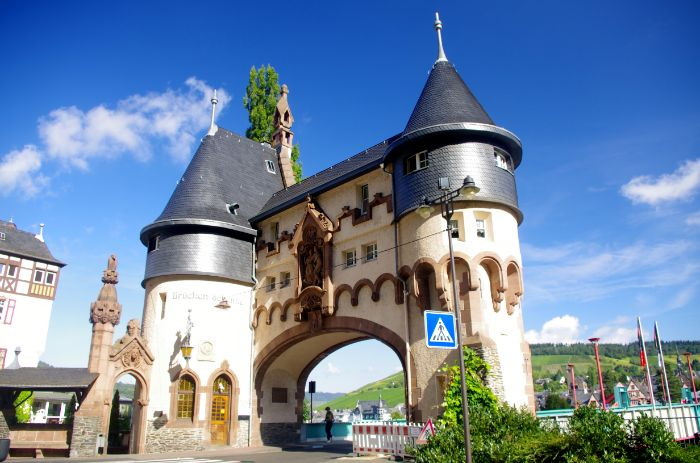 Bridge gate in Traben-Trarbach