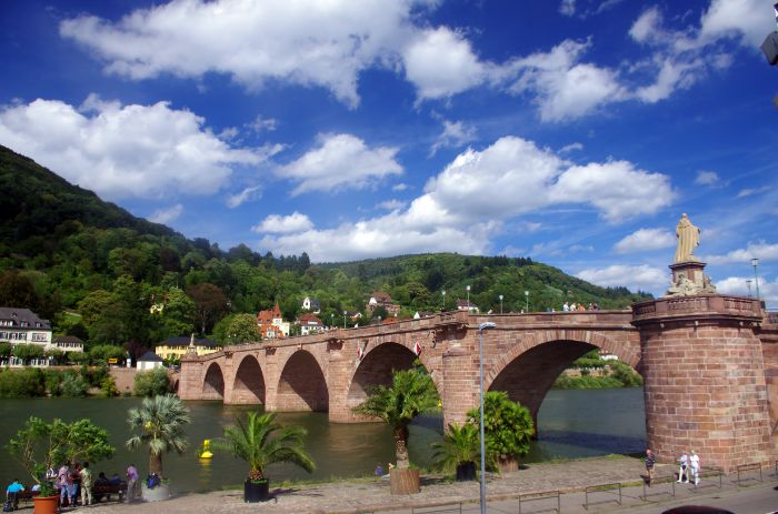 Old Bridge in Heidelberg