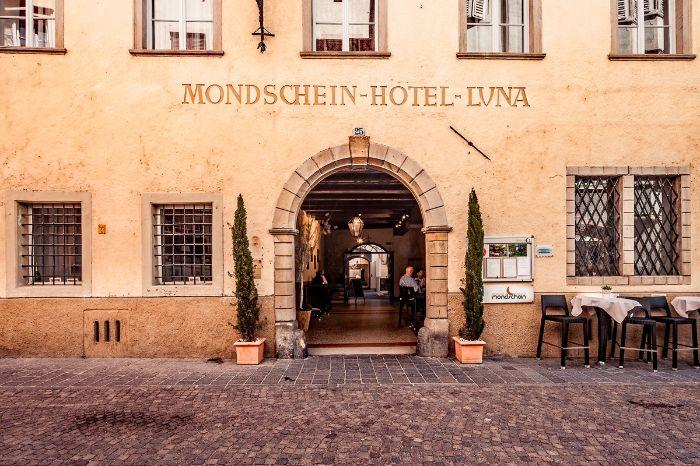Hotel Mondschein Bozen Restaurant